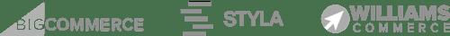 logos bigcommerce styla williamscommerce